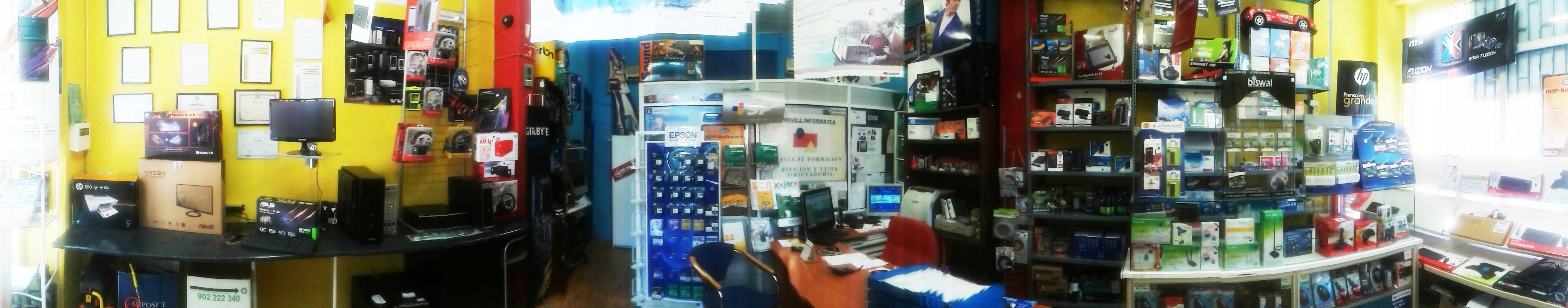 Tienda de Informatica Madrid Barrio de Salamanca