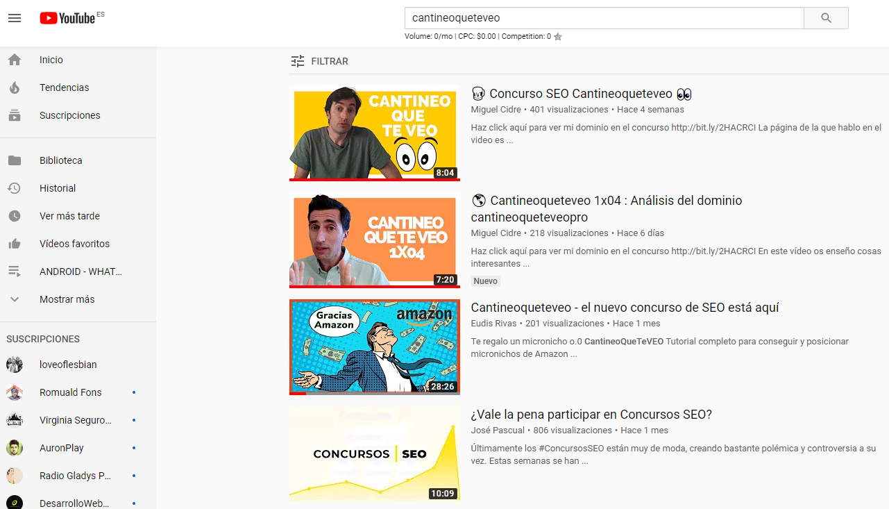 cantineoqueteveo-youtube